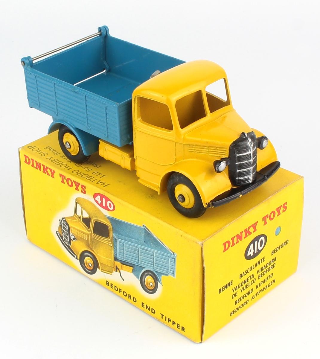 Dinky 410 982 252 Bedford Volquete Camión parrilla metálica frontal reemplazo REPRO