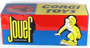 Corgi toys sign jouef x671