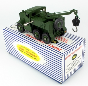 Dinky 661 recovery tractor x2301