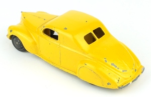 Dinky 39c lincoln zephyr yellow x3361