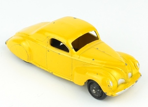 Dinky 39c lincoln zephyr yellow x336