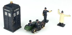 Dinky gift set 42 police motorcycle x3571