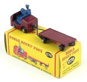 Dinky 076 lansing tractor trailer x4021