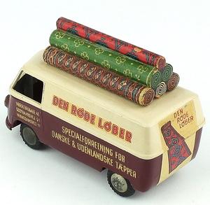 Tekno 418 carpet delivery van den rode lober x4701