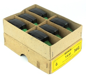 Dinky 36g taxi trade box x590