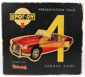 Spot on presentation set 4 sports cars x715