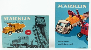 Marklin brochures catalgues x744