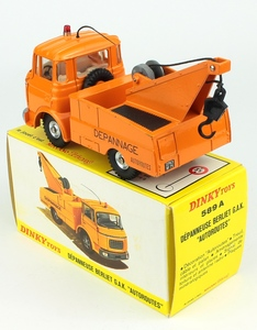 French dinky 589a autoroutes berliet x8801