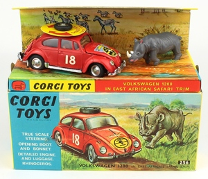 Corgi 256 vw safari rhino x994