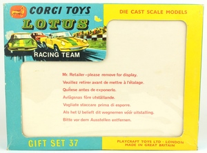 Corgi gift set 37 lotus racing x991