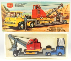 Corgi gift set 27 machinery carrier priestman cub yy43a