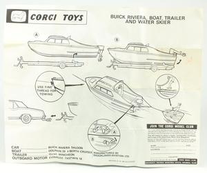 Corgi gift set 31 buick riviera yy467