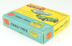 Corgi gift set 5 british racing cars yy534