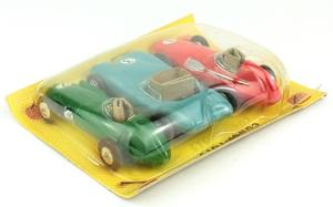 Corgi gift set 5 british racing cars yy532
