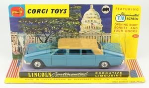 Corgi 262 lincoln continental yy79