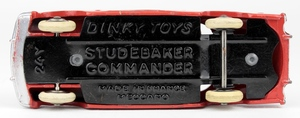 French dinky 24y studebaker commander yy932