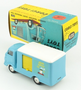 Corgi 435 karrier bantam van drive safely milk yy1421