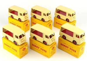 Dinky 491 job's dairy vans trade box yy1532