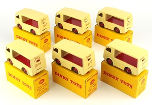 Dinky 491 job's dairy vans trade box yy1533