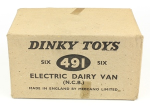 Dinky 491 job's dairy vans trade box yy153