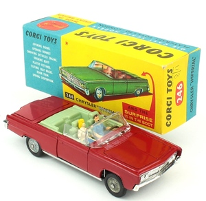 Corgi 246 chrysler imperial yy255