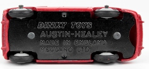 Dinky 103 austin healey yy2962