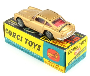 Corgi 261 james bond aston martin yy2911