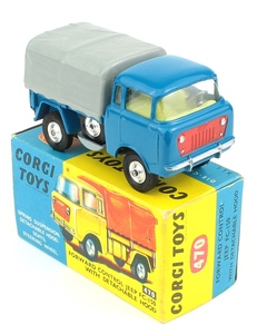 Corgi 470 forward control jeep yy306