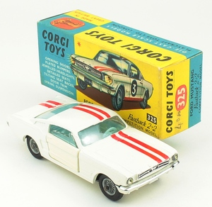 Corgi 325 mustang comptition yy314