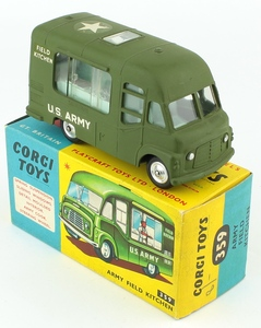 Corgi 359 army field kitchen yy371