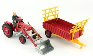 Corgi gift set 9 massey ferguson tractor shovel yy3881