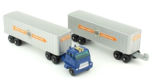 Matchbox m9 inter state double freighter yy3911