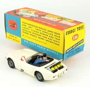 Corgi 258 james bond toyota yy5031