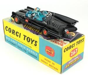 Corgi 267 batmobile yy5711