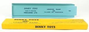 Dinky toys 982 pullmore car transporter ramp yy6285