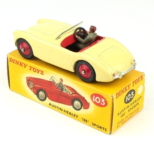 Dinky toys 103 austin healey yy6511