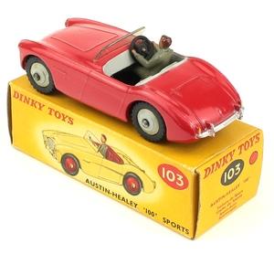Dinky toys 103 austin healey yy6521