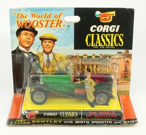 Corgi toys 9004 world wooster bentley yy660