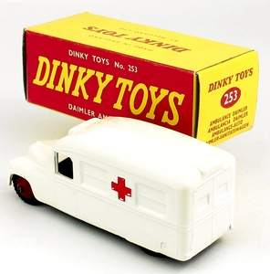 Dinky toys 253 daimler ambulance yy6841