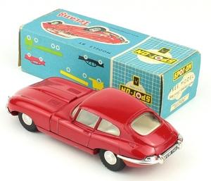 Spot on models 217 e type jaguar yy6981