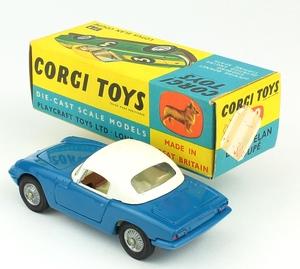 Corgi toys 319 lotus elan coupe yy7041