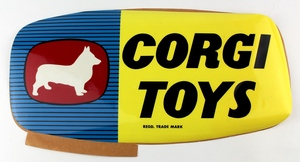 Corgi toys window sticker yy664
