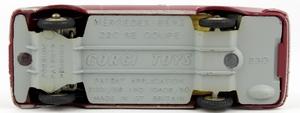 Corgi toys 230 mercedes benz 220 se coupe yy7112