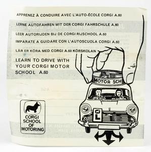Corgi toys 255 motor school car yy7143
