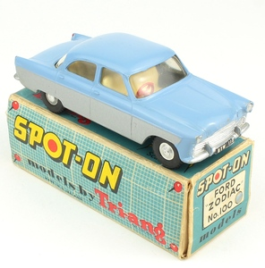 Spot on models 100 ford zodiac yy742