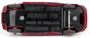 Dinky toys 156 rover 75 yy7832