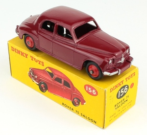 Dinky toys 156 rover 75 yy783