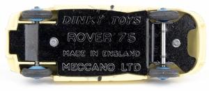 Dinky toys 156 rover 75 yy7842