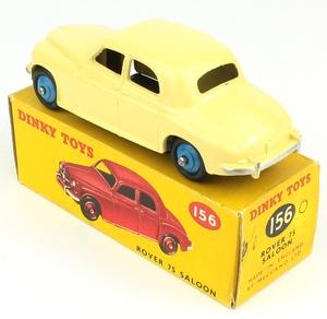 Dinky toys 156 rover 75 yy7841