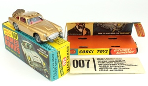 Corgi toys 261 james bond aston martin yy796